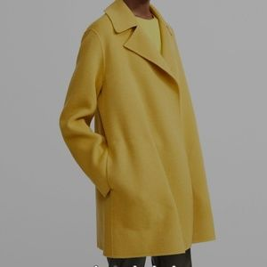 NWT (fall 2019) Theory Double Faced Overlay Coat